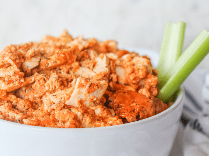 Dairy Free Buffalo Ranch Chicken Dip